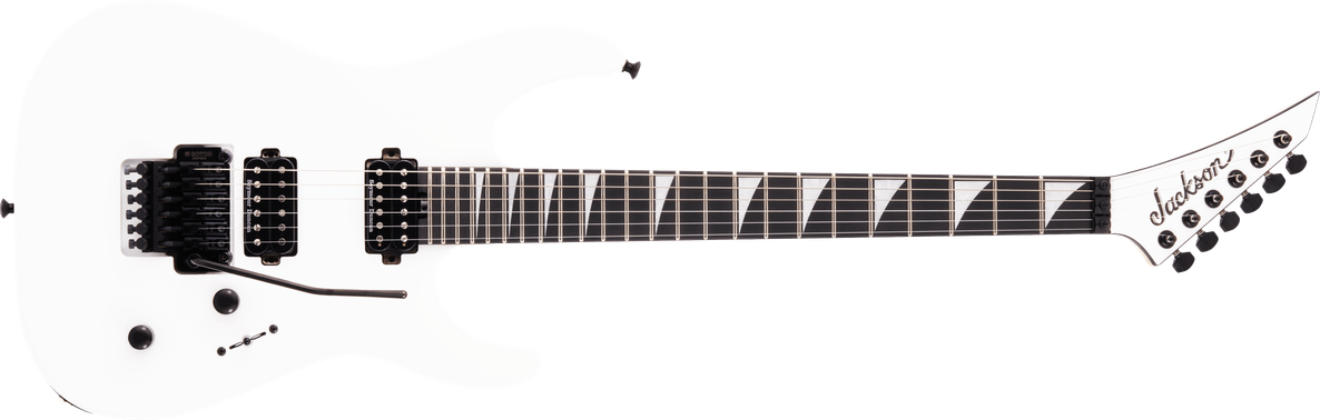 MJ Series Dinky™ DKR MAH, Ebony Fingerboard, Snow White