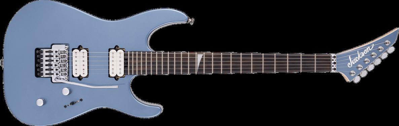 MJ Series Dinky™ DKR, Ebony Fingerboard, Ice Blue Metallic