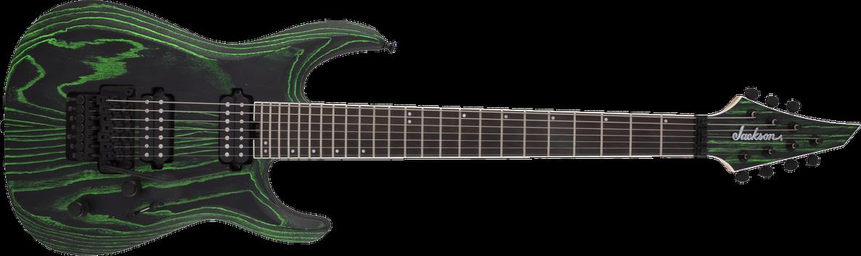 Pro Series Dinky™ DK Modern Ash FR7, Ebony Fingerboard, Baked Green