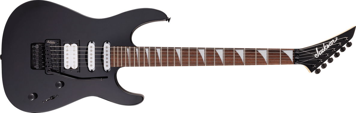X Series Dinky™ DK3XR HSS, Laurel Fingerboard, Gloss Black