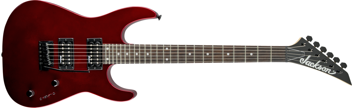 JS Series Dinky™ JS12, Amaranth Fingerboard, Metallic Red