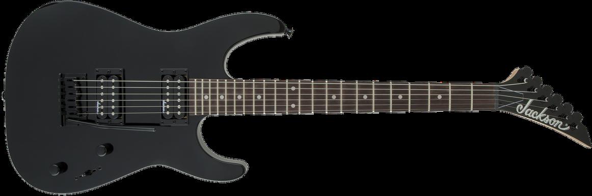 JS Series Dinky™ JS11, Amaranth Fingerboard, Gloss Black