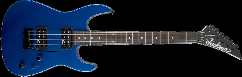 JS Series Dinky™ JS11, Amaranth Fingerboard, Metallic Blue