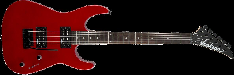 JS Series Dinky™ JS11, Amaranth Fingerboard, Metallic Red