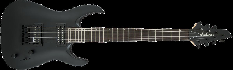 JS Series Dinky™ Arch Top JS22-7 DKA HT, Amaranth Fingerboard, Satin Black