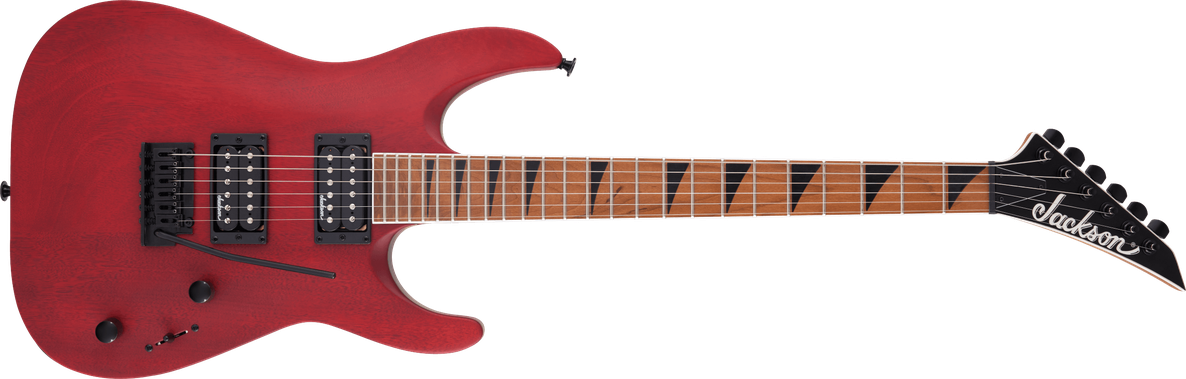 JS Series Dinky™ Arch Top JS24 DKAM, Caramelized Maple Fingerboard, Red Stain