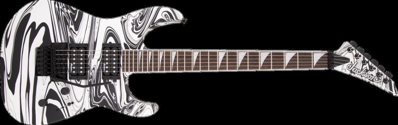 X Series Soloist™ SLX DX Swirl, Laurel Fingerboard, Satin White Swirl