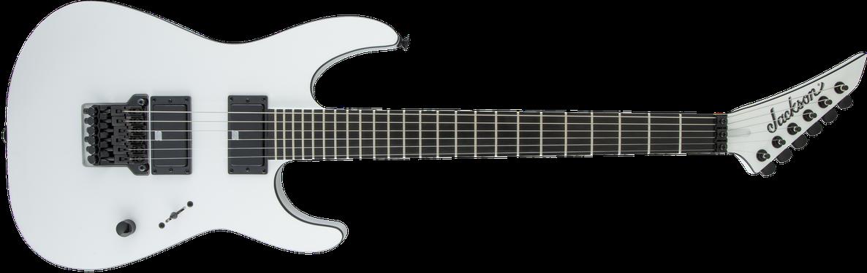 Pro Series Signature Mick Thomson Soloist™ SL2, Ebony Fingerboard, Arctic White