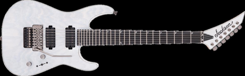 Pro Series Soloist™ SL7A MAH, Ebony Fingerboard, Unicorn White