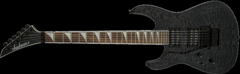 X Series Soloist™ SLXQ LH, Laurel Fingerboard, Transparent Black