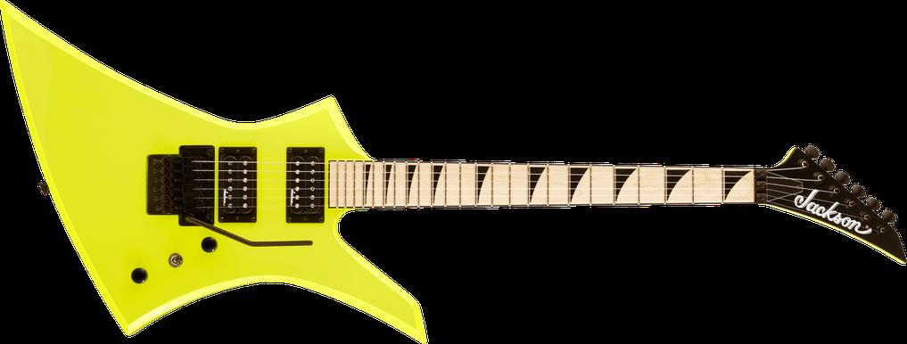 X Series Kelly™ KEXM, Maple Fingerboard, Neon Yellow