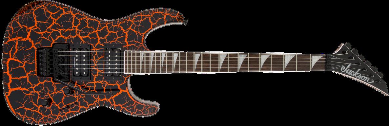 X Series Soloist™ SLX Crackle, Laurel Fingerboard, Orange Crackle