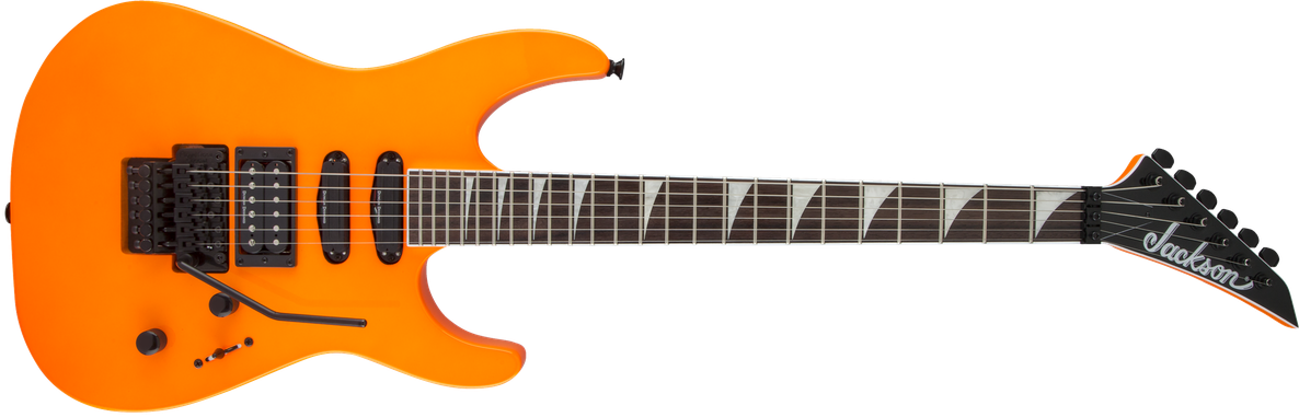 X Series Soloist™ SL3X, Laurel Fingerboard, Neon Orange