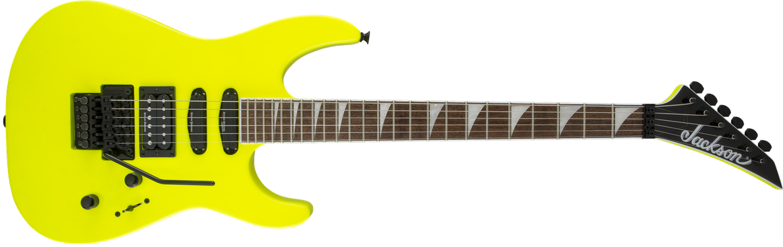 X Series Soloist™ SL3X, Laurel Fingerboard, Neon Yellow