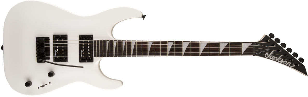 JS Series Dinky™ Arch Top JS22 DKA, Amaranth Fingerboard, Snow White