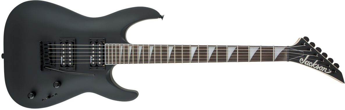 JS Series Dinky™ Arch Top JS22 DKA, Amaranth Fingerboard, Satin Black