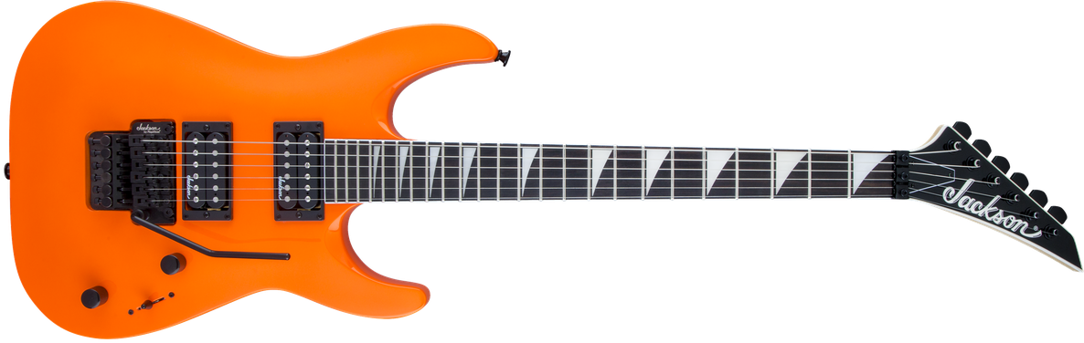 JS Series Dinky™ Arch Top JS32 DKA, Amaranth Fingerboard, Neon Orange
