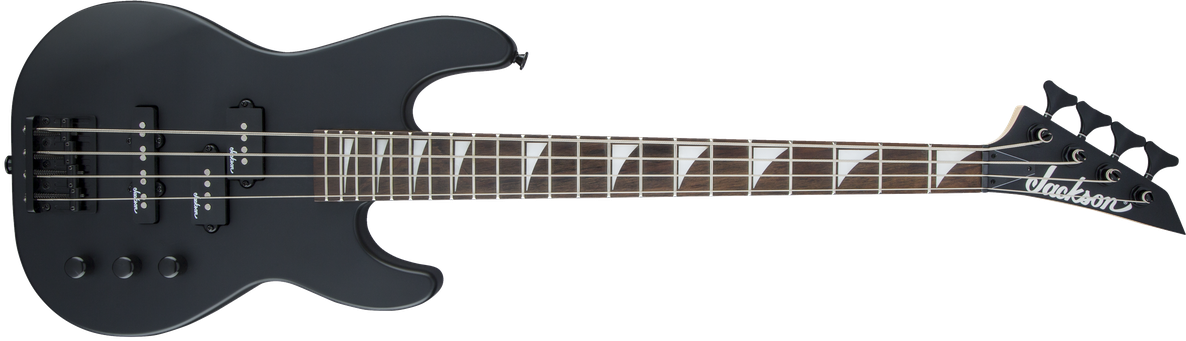 JS Series Concert Bass™ Minion JS1X, Amaranth Fingerboard, Satin Black