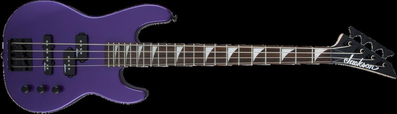 JS Series Concert™ Bass Minion JS1X, Amaranth Fingerboard, Pavo Purple