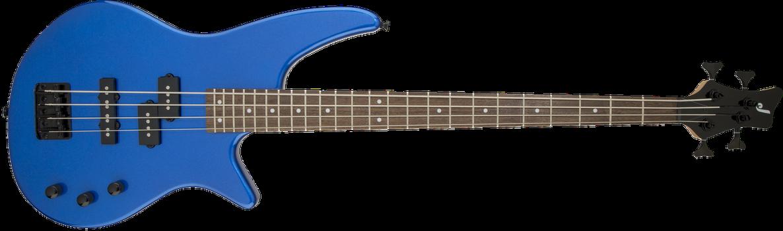 JS Series Spectra Bass JS2, Laurel Fingerboard, Metallic Blue