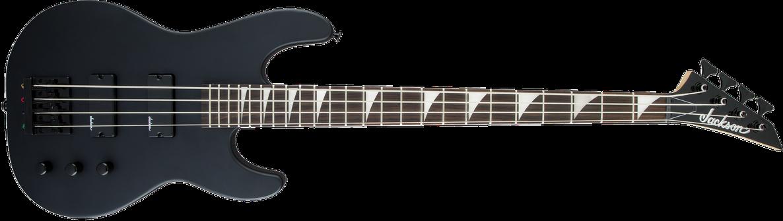 JS Series Concert™ Bass JS2, Amaranth Fingerboard, Satin Black