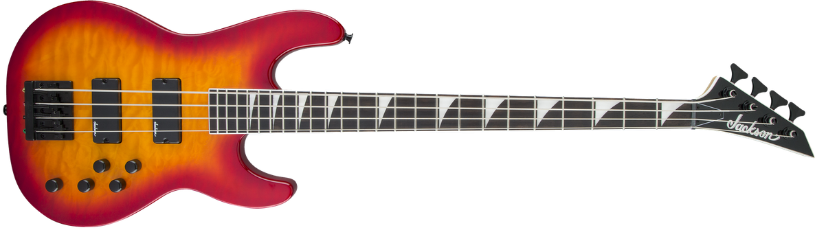 JS Series Concert™ Bass JS3Q, Amaranth Fingerboard, Cherry Burst