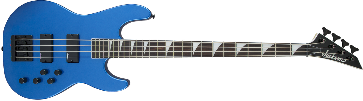 JS Series Concert™ Bass JS3, Amaranth Fingerboard, Metallic Blue