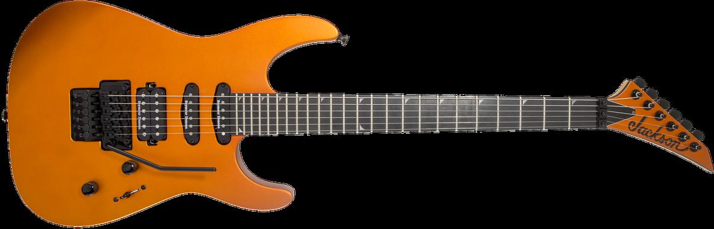 Pro Series Soloist™ SL3, Ebony Fingerboard, Satin Orange Blaze