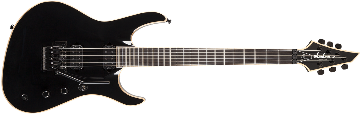 USA Signature Chris Broderick Soloist™ 6, Ebony Fingerboard, Gloss Black