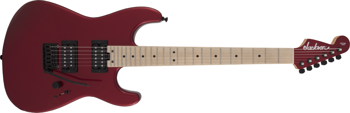 USA Signature Gus G. San Dimas® Style 1, Maple Fingerboard, Candy Apple Red