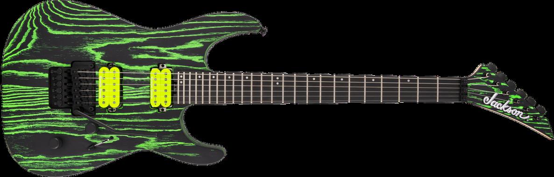 Pro Series Dinky™ DK2 Ash, Ebony Fingerboard, Green Glow