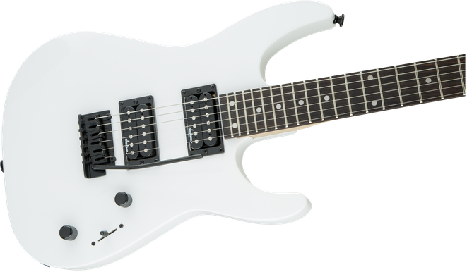 JS Series Dinky™ JS12, Rosewood Fingerboard, Snow White