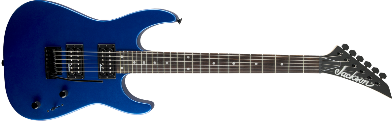 JS Series Dinky™ JS12, Amaranth Fingerboard, Metallic Blue
