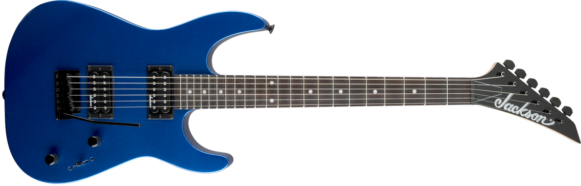 JS Series Dinky™ JS11, Amaranth Fingerboard, Metallic Blue