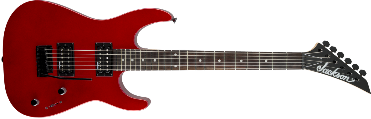 JS Series Dinky™ JS11, Amaranth Fingerboard, Metallic Red