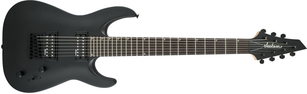 JS Series Dinky™ Arch Top JS22-7 DKA HT, Amaranth Fingerboard, Satin Black
