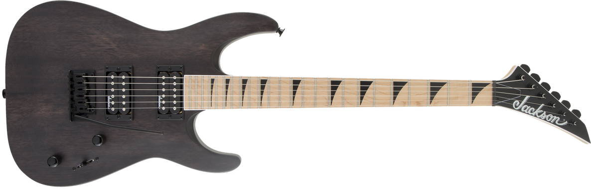 JS Series Dinky™ Arch Top JS22 DKAM, Maple Fingerboard, Black Stain