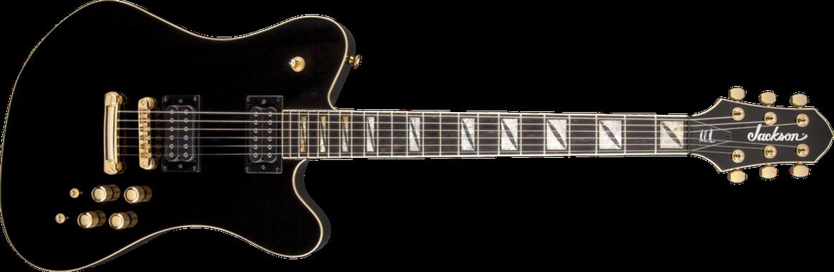 Pro Series Signature Mark Morton Dominion™, Ebony Fingerboard, Gloss Black