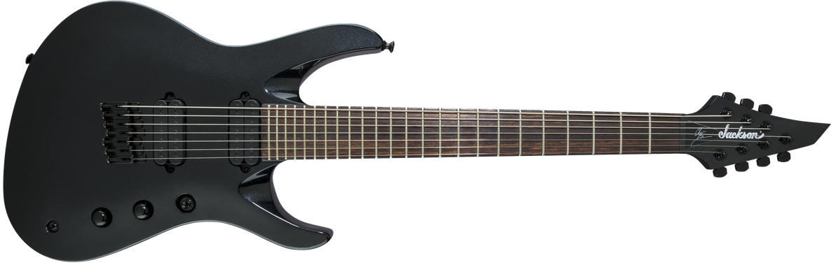 Pro Series Signature Chris Broderick Soloist™ HT7, Rosewood Fingerboard, Metallic Black