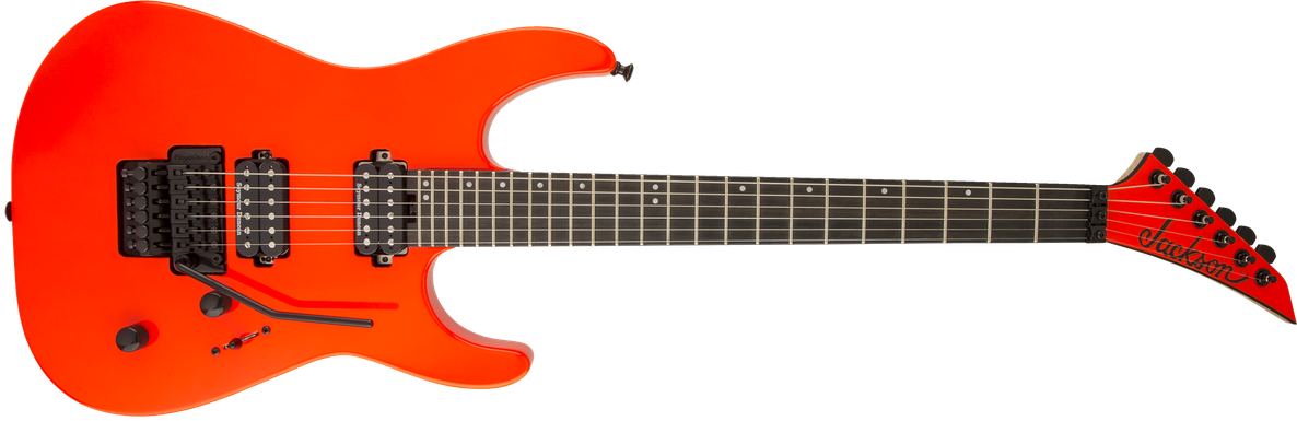 Pro Series Dinky™ DK2, Ebony Fingerboard, Rocket Red