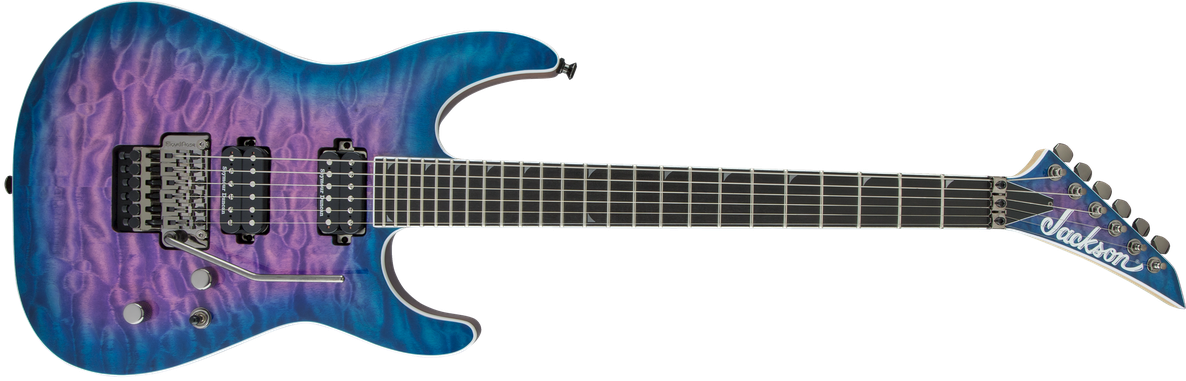 Pro Series Soloist™ SL2Q MAH, Ebony Fingerboard, Northern Lights