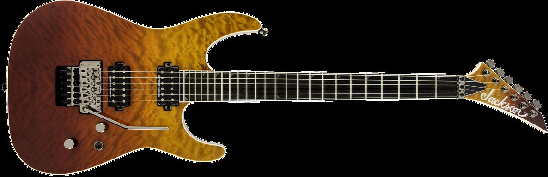 Pro Series Soloist™ SL2Q MAH, Ebony Fingerboard, Desert Sunset Sky