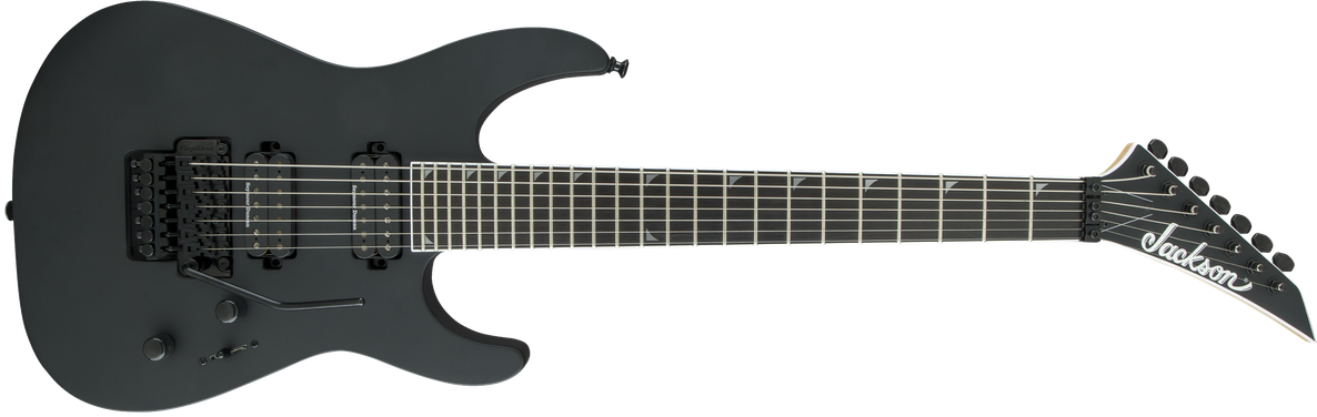 Pro Series Soloist™ SL7, Ebony Fingerboard, Satin Black
