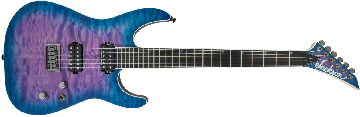 Pro Series Soloist™ SL2Q HT MAH, Ebony Fingerboard, Northern Lights