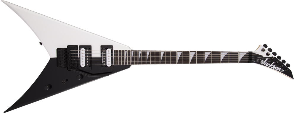 Pro Series King V™ KV Two-Face, Ebony Fingerboard, Black and White
