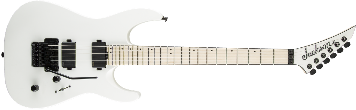 Pro Dinky™ DK2RMG-M, Maple Fingerboard, Satin China White