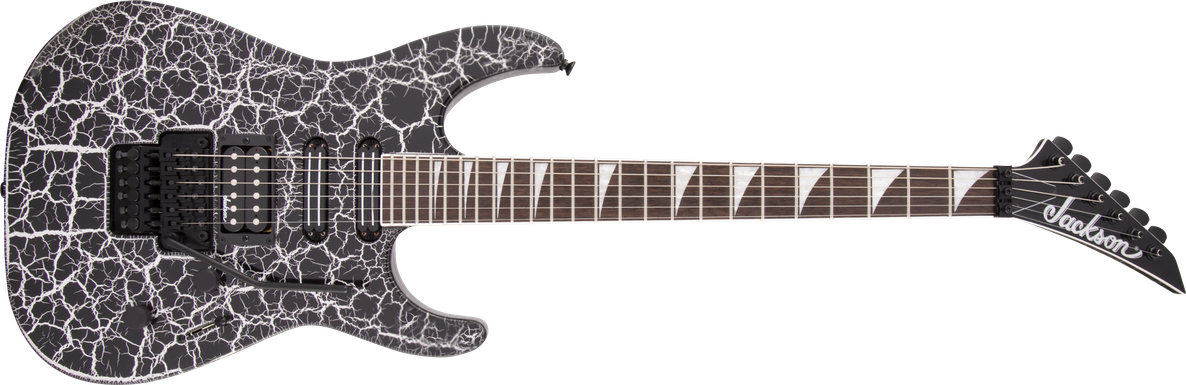 X Series Soloist™ SL3X DX Crackle, Laurel Fingerboard, Silver Crackle