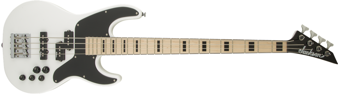 X Series Concert™ Bass CBXNTM IV, Maple Fingerboard, Snow White