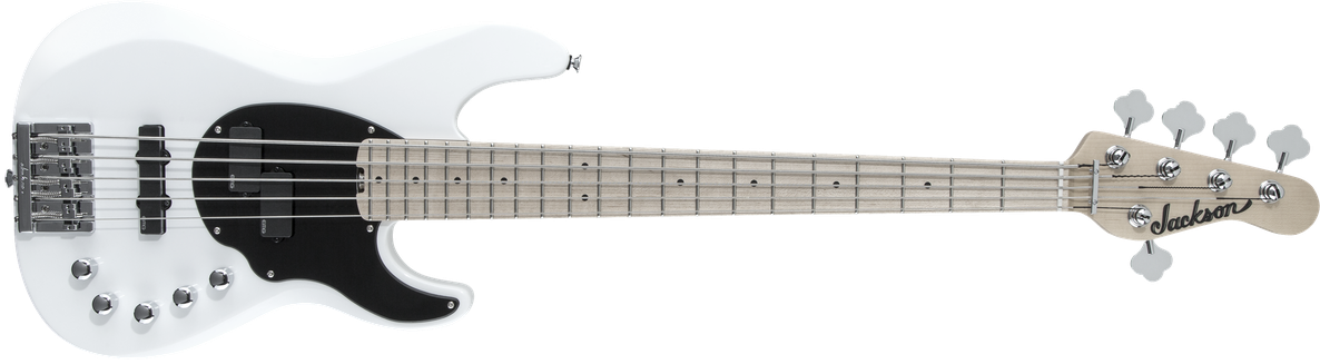 X Series Signature David Ellefson Concert™ Bass CBXM V, Maple Fingerboard, Snow White
