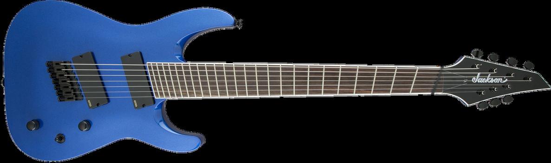 X Series Soloist™ Arch Top SLAT7 MS, Laurel Fingerboard, Multi-Scale, Metallic Blue